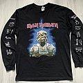 Iron Maiden - TShirt or Longsleeve - Iron Maiden / World Slaver Tour 1984-1985 Longsleeve - 2020 print