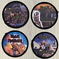 Iron Maiden - Patch - Iron Maiden - circle photo patches