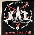 KAT / Metal And Hell - Backpatch