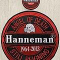 Slayer - Patch - Slayer / Jeff Hanneman - Tribute patches