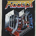 Accept / Metal Heart - Backpatch