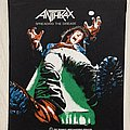 Anthrax / Spreading The Disease - 1987 Bravado - Backpatch