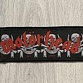 Motörhead - Patch - Motörhead / March Or Die - 1993 stripe patch