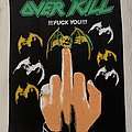 Overkill - Patch - Overkill / !!!Fuck You!!! -Backpatch