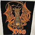 Dio - Patch - DIO / Sacred Heart - 80's backpatch