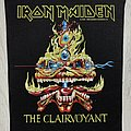 Iron Maiden - Patch - Iron Maiden / The Clairvoyant - 1988 Holdings Ltd Backpatch