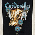 Cinderella - Patch - Cinderella / Skull - 1988 Backpatch