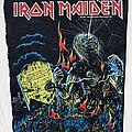 Iron Maiden - Patch - Iron Maiden / Live After Death - 1985 Holdings Ltd backpatch