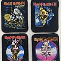 Iron Maiden -  Live After Death / The Evil That Men Do / The Clairvoyant / No Prayer For The Dying printed patches