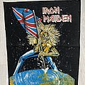 Iron Maiden - Patch - Iron Maiden / The Beast on the Road - Backpatch