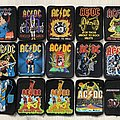 AC/DC - Patch - AC/DC - 80's and 90's printed patches