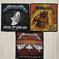 Metallica - Patch - Metallica - Master of Puppets, Jump in the Fire and Metal Up Your Ass - woven...