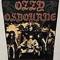 Ozzy Osbourne - Patch - Ozzy Osbourne / No Rest For The Wicked - back patch
