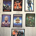 Iron Maiden / 80's printed photo patches