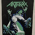 Anthrax / Spreading The Disease -  Backpatch