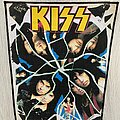 Kiss - Patch - KISS / Crazy Nights - 1987 backpatch