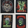Slayer - Woven patches 80's to 00's