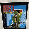 D.R.I. - Patch - D.R.I. / Dirty Rotten - 80's backpatch