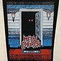 Metal Church - Patch - Metal Church / The Dark - 80's Backpatch