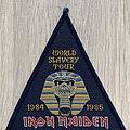 Iron Maiden - Patch - Iron Maiden / World Slavery Tour 1984 1985 - woven patch