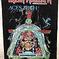 Iron Maiden / Aces High - 1984 IM Holdings LTD Backpatch