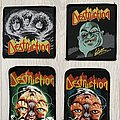 Destruction - Printed and Woven Patches