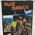 Iron Maiden - Patch - Iron Maiden / Stranger in a Strange Land - Backpatch