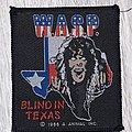W.A.S.P. - Patch - W.A.S.P. - Blind in Texas patch