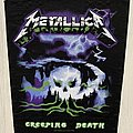 Metallica - Patch - Metallica / Creeping Death - 2017 Probity back patch
