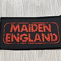 Iron Maiden - Patch - Iron Maiden / Maiden England - 1989
