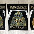 Iron Maiden / Powerslave - 1984 IM Holdings LTD Backpatch