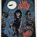 Slayer / Live Undead - 1989 backpatch