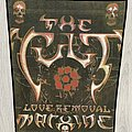 THE CULT - Patch - The Cult / Love Removal Machine - 80's backpatch