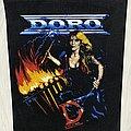 Doro - Patch - Doro / Force Majeure - 1989 Razamataz backpatch