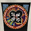 Kiss - Patch - KISS / Rock And Roll Over - Backpatch