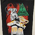 Def Leppard - Patch - Def Leppard - Leopard Man Backpatch