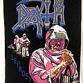 Death / Leprosy - 1989 Blue Grape - Razamataz Backpatch