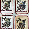 Slayer / South of Heaven - Printed Patches 1990 Brockum