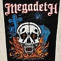 Megadeth - Patch - Megadeth - Skull back patch