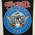 Aerosmith - Patch - Aerosmith / Aero Force One - 1988 Backpatch
