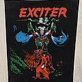 Exciter - Patch - Exciter / Long Live The Loud - 80's backpatch