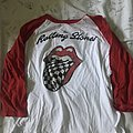 The Rolling Stones - TShirt or Longsleeve - Rolling Stones Red/White/Checkered Tongue Raglan Size M
