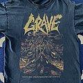 Grave 2012 US tour shirt