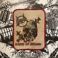 Slayer - Patch - vintage Slayer - South of Heaven printed patch