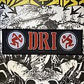 D.R.I. - Patch - Vintage D.R.I. strip patch
