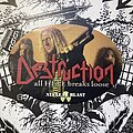 Destruction - Other Collectable - Destruction - All Hell Breaks Loose sticker
