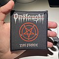 Onslaught - Patch - Vintage Onslaught - The Force woven patch
