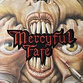 Mercyful Fate embroidered logo patch