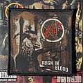 Vintage Slayer - Reign in Blood woven patch