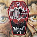 Loudness - Patch - Loudness - Hurricane Eyes woven coffin patch